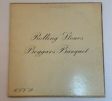 THE ROLLING STONES BEGGARS BANQUET 1968  LP 1st PRESS  PS 539