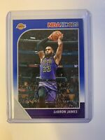 LeBron James Panini NBA Hoops Blue #87 SSP Rare