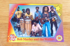 BOB MARLEY & THE WAILERS  THE BANDS 1970's CARD # 24  2020