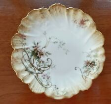10 - A/L Limoges Hand Painted 6 Inch Dessert Or Salad Plate