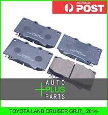 Fits TOYOTA LAND CRUISER GRJ7_ 2014- - Pad Kit, Disc Brake, Front