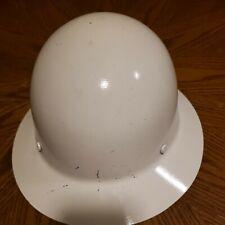 Hard Hat White Skullgard Type 1 Used
