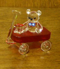 """CRYSTAL WORLD #1116 BABY'S RED WAGON, 1.75"""", New/Box From Retail Store"""