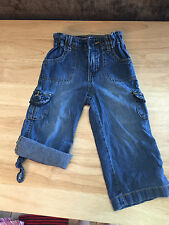 Baby Girl Blue Jeans Shorts Size 24 Month The Children's Place Light Cotton