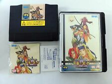LAST BLADE 2 II Gekka no Kenshi 2 NEO GEO NEOGEO AES SNK Very Good Condition