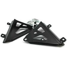 Works Connection - 18-B708 - Radiator Brace, Black CRF450R 17-18