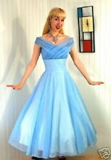 TO DIE FOR Cinderella princess full twirl vintage dress high end paid $350 XS-S
