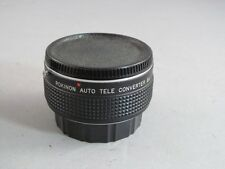Rokinon 2X Auto Tele Converter For Yashica Contax With Case