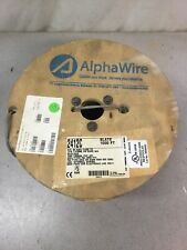 1000ft of Alpha Wire 2412C 20AWG 2C Shielded Communication & Control Cable