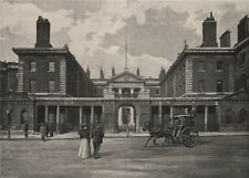 The Admiralty. London 1896 old antique vintage print picture
