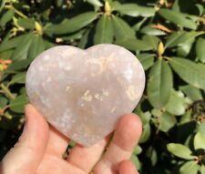 Flower Agate Heart!