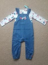Joules Wilbury Dungaree Set BNWT Age 18-24 Months