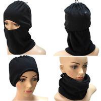 Kid Adult Full Face Mask Snow Windproof Warmer Balaclava Biker Winter Ski Hat