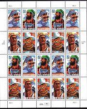 US - Sheet of 20  - Sc #3083-86 - Folk Hero Legends - MNH