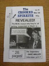 Mar-1989 Chesterfield: The Crooked Spireite  No.11 - Independent Football Magazi