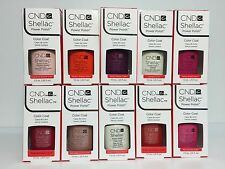 CND Shellac Gel Nail Polish Soak off UV Colors 0.25 oz. PICK any 10 COLORS set