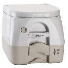 Dometic Marine SeaLand 974 Portable Toilet 2.6 Gallon Tan With Brackets