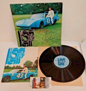1/1 NASCAR Autographed Signed MEET RICHARD PETTY Record Vinyl LP Book 1970 JSA