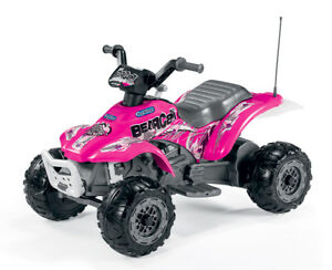 Corral Bearcat Pink 6v Electric Ride On Quad