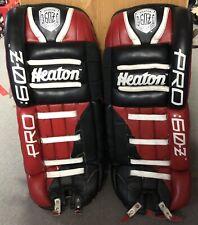 Vintage Heaton Pro 60Z Hockey goalie pads