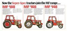 Vintage Massey Ferguson Tractor Super-Spec SALES BROCHURE/POSTER ADVERT A3