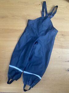 Regen-/ Matschhose, blau, 110/116