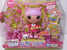 Lalaloopsy Littles Doll Silly Hair Trinket Sparkles Ages 4+ New Girls