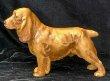 "Royal Doulton Hn 1187 Rare 7 1/2"" Cocker Spaniel Caramel Color Frederick Daws"
