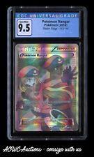 Pokemon - Steam Siege - Pokemon Ranger 113/114 (Ultra Rare) - CGC Gem Mint 9.5