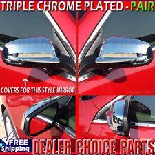 2013 2014 2015 Chevy Malibu/2016 Malibu Limited  Chrome Mirror COVERS Overlays