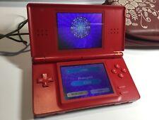 Nintendo DS Lite Rot Handheld-Spielkonsole+ 1 Spiel