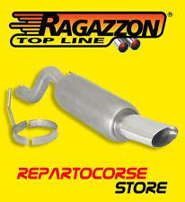 RAGAZZON TERMINALE SCARICO OVALE 110x65mm ALFA ROMEO MITO 1.4 79cv - DAL 09/2008