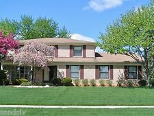 Colonial Brick Home Troy Mich. House For Sale Corner Lot Will Furnish 2440 sq ft