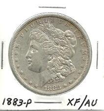 1883-P___MORGAN SILVER DOLLAR___XF/AU__#958KJ5