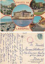 Cartolina Rarissima - SALUTI DA  LADISPOLI  - ROMA