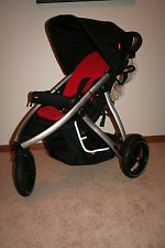 EUC PHIL & TED VIBE Jogging Stroller~RED~Single!