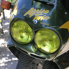 HONDA AFRICA TWIN XRV 750 YELLOW HEADLIGHT PROTECTORS
