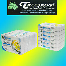 12 PACK TREEFROG FRESH BOX (aka XTREME FRESH) MARINE SQUASH AIR FRESHENER TRMS53