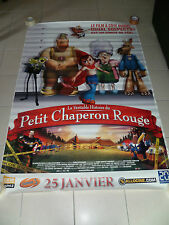 AFFICHE CHAPERON ROUGE HOODWINKED  4x6 ft Bus Shelter Original Movie Poster 2005