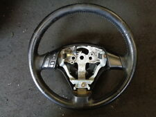 2005 MAZDA 3 1.6 TS2 5DR MULTIFUNCTION LEATHER STEERING WHEEL