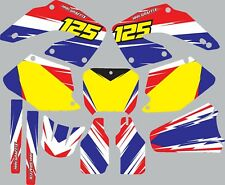 Graphic Kit for 2000-2001 Honda CR125 CR 125 shrouds fender plastic decals