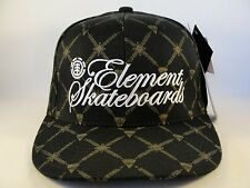 Element Crowns Flexfit Hat Cap Element Skateboards