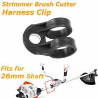 Universal Trimmer Brushcutter Harness Hook Clip Bracket Black for 26mm Shaft