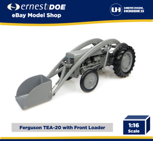 Ferguson TEA-20 With Front Loader   Universal Hobbies 1:16 Scale Model   UH4171