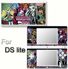Monster High Popular SKIN DECAL VINYL STICKER COVER #1 for Nintendo DS Lite