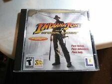 INDIANA JONES and the INFERNAL MACHINE PC Game Windows 95/98 Lucas Arts 2 Discs