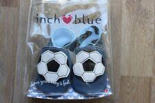 Inch Blue Krabbelschuhe Lederpuschen Football Shoe Blue 0-6 Monate NEU