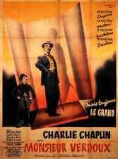 Monsieur Verdoux 04 comprimidos A3 cartel impresión