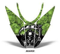 Sled Hood Graphics Kit Decal Wrap For Arctic Cat Pro Climb Cross 12-16 REAPER G