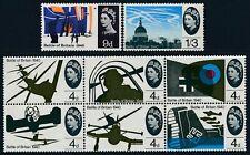 1965 GB BATTLE OF BRITAIN ANNIVERSARY (ORD) SET OF 8 FINE MINT MNH SG671-SG678
